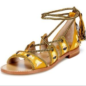 House of Harlow 1960 Gabrielle Strappy Sandal, 9.5